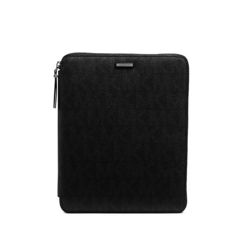 MICHAEL KORS MEN Jet Set Signature PVC Mini Tablet Case BLACK
