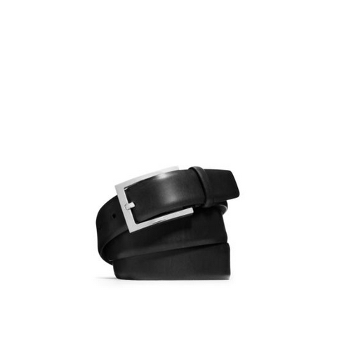 MICHAEL KORS MEN Leather Belt BLACK