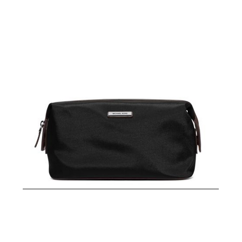 MICHAEL KORS MEN Windsor Nylon Toiletry Kit BLACK/BROWN
