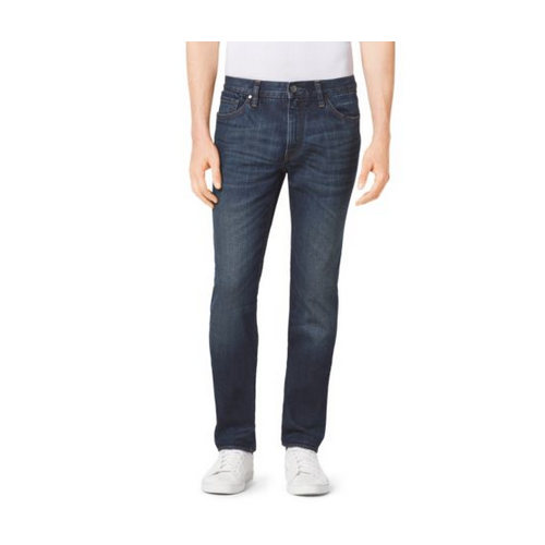 MICHAEL KORS MEN Slim-Fit Jeans DARK INDIGO