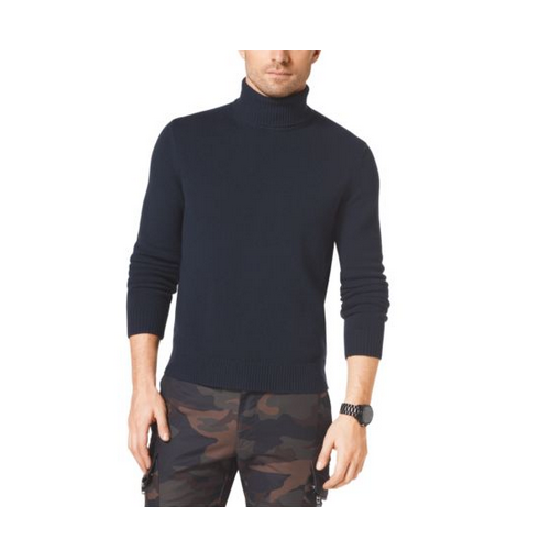 MICHAEL KORS MEN Cashmere Turtleneck MIDNIGHT