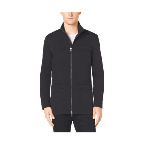MICHAEL KORS MEN Stretch-Nylon Utility Jacket BLACK