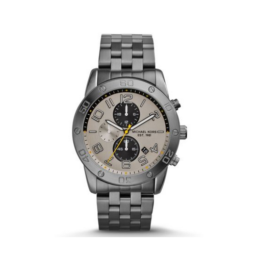 MICHAEL KORS Mercer Gunmetal Watch