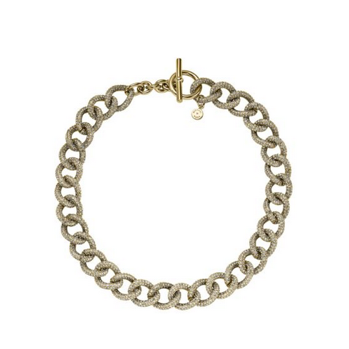 MICHAEL KORS Pav Chain-Link Necklace