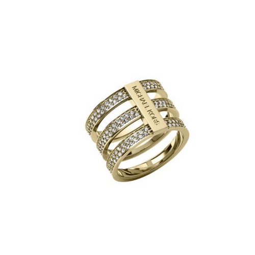 MICHAEL KORS Pav Gold-Tone Ring