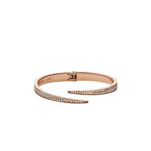 MICHAEL KORS Pav Rose Gold-Tone Bangle