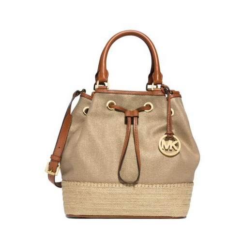 MICHAEL MICHAEL KORS Marina Large Canvas Shoulder Tote