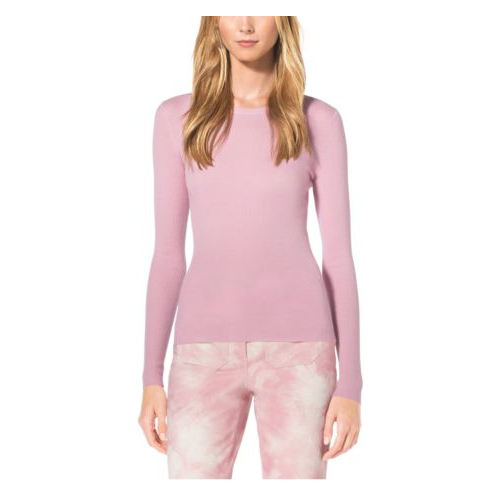 MICHAEL KORS COLLECTION Cashmere Crewneck Sweater BLUSH