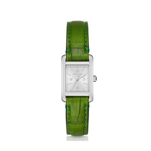 MICHAEL KORS Taylor Silver-Tone And Crocodile Watch