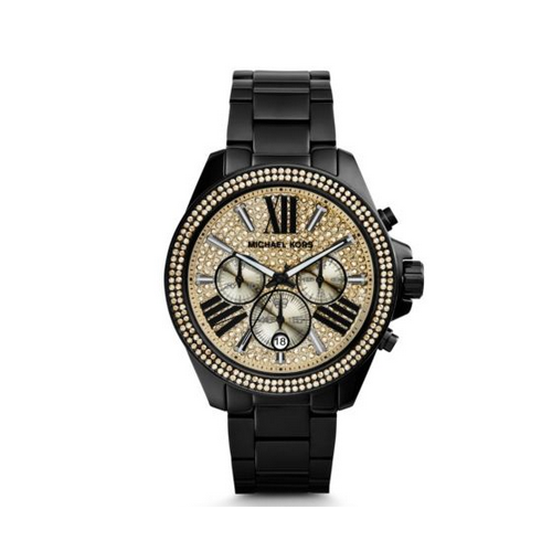 MICHAEL KORS Wren Pav Black Watch