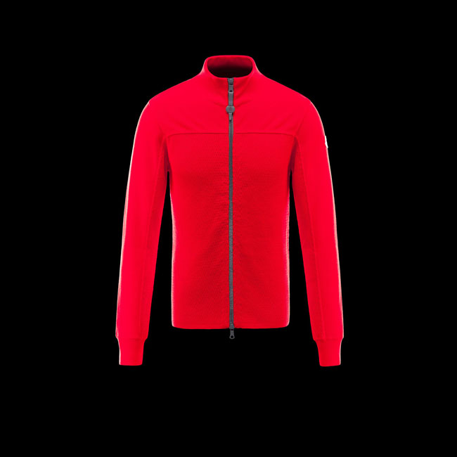 MONCLER MEN R Cardigan RED