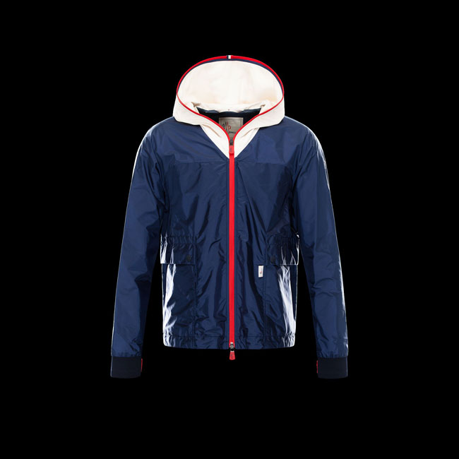MONCLER MEN GRENOBLE FONTAINEBLEAU BLUE