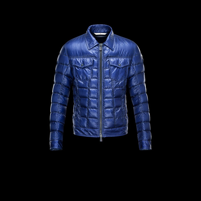 MONCLER MEN GRENOBLE FREHEL BLUE