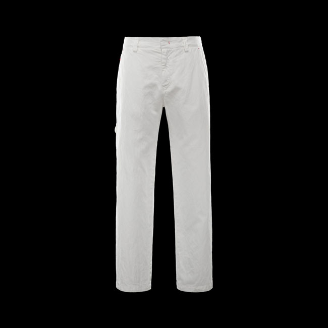 MONCLER MEN Casual pants WHITE