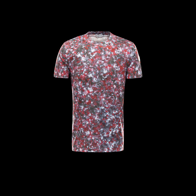 MONCLER MEN R T-shirt MAROON