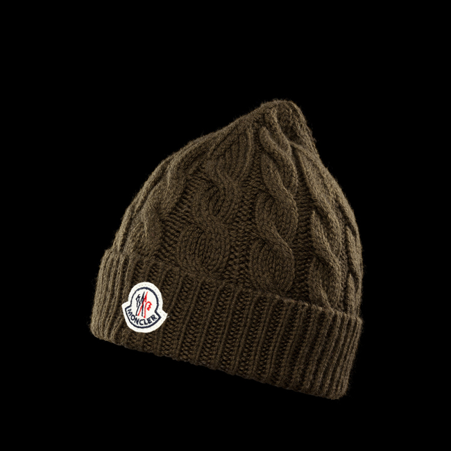 MONCLER MEN Hat MILITARY GREEN