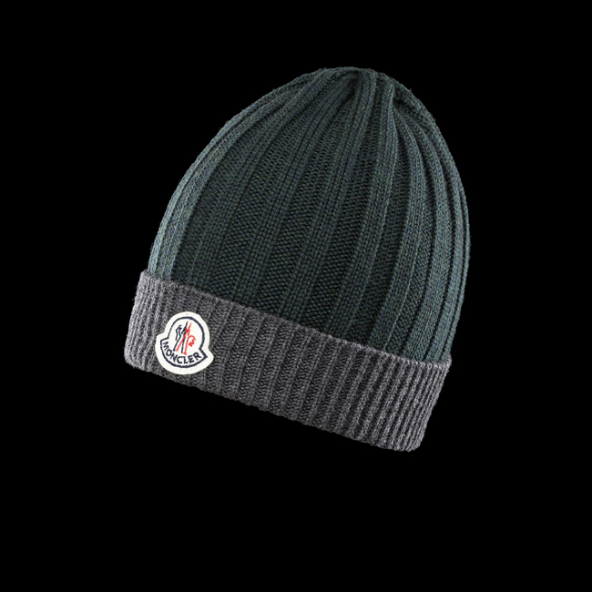 MONCLER MEN Hat DARK GREEN