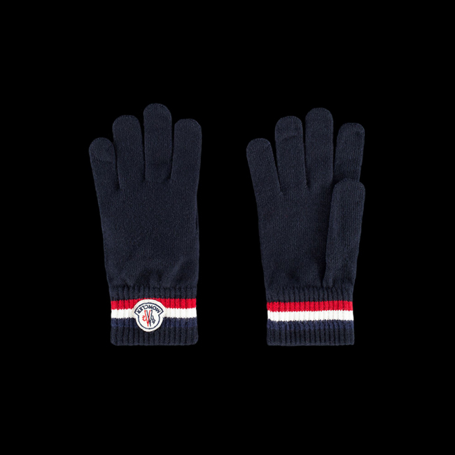 MONCLER MEN Gloves BLUE