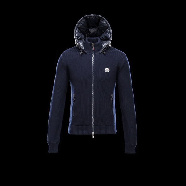 MONCLER MEN Cardigan BLUE