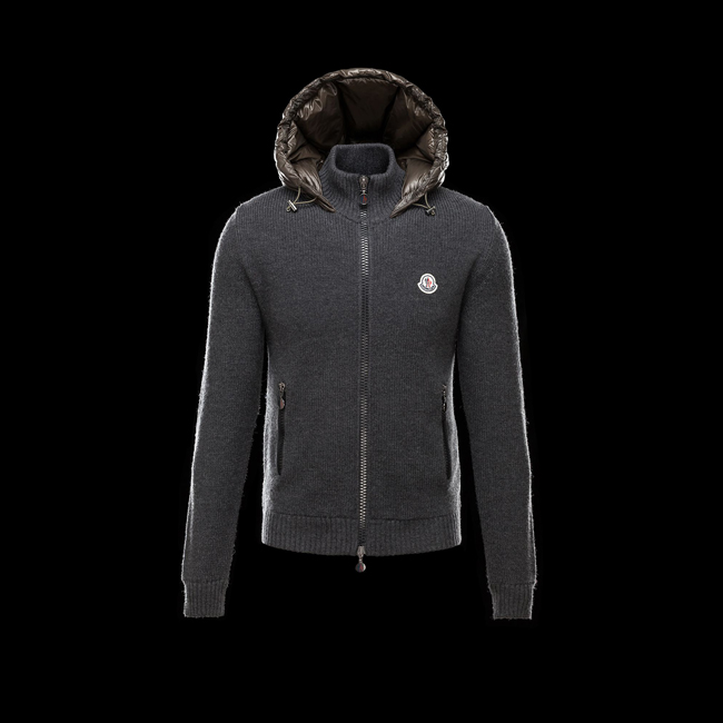 MONCLER MEN Cardigan MILITARY GREEN
