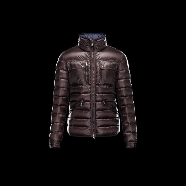 MONCLER MEN NORBERT DARK BROWN