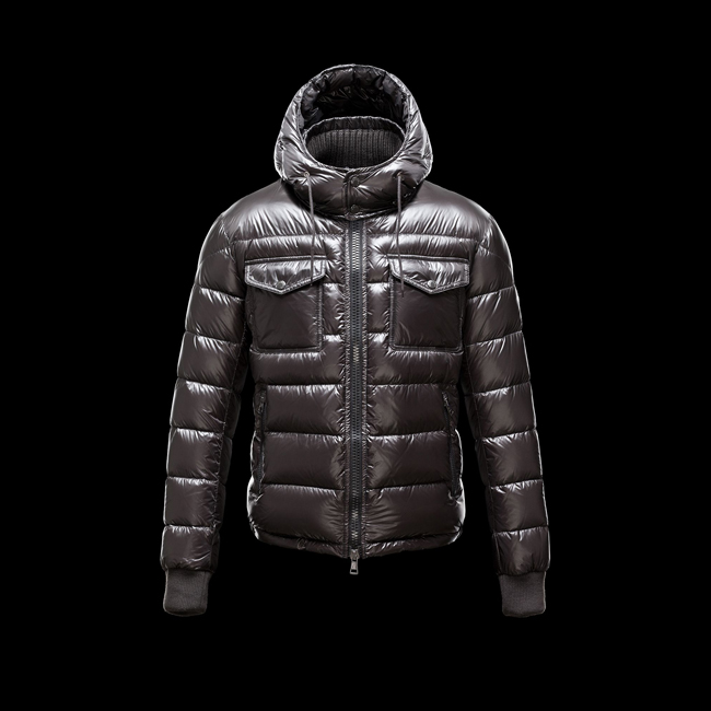 MONCLER MEN FEDOR STEEL GREY