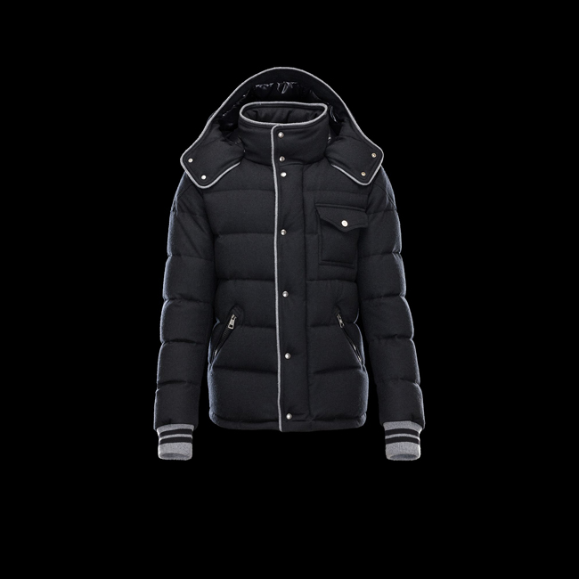 MONCLER MEN BRESLE BLACK