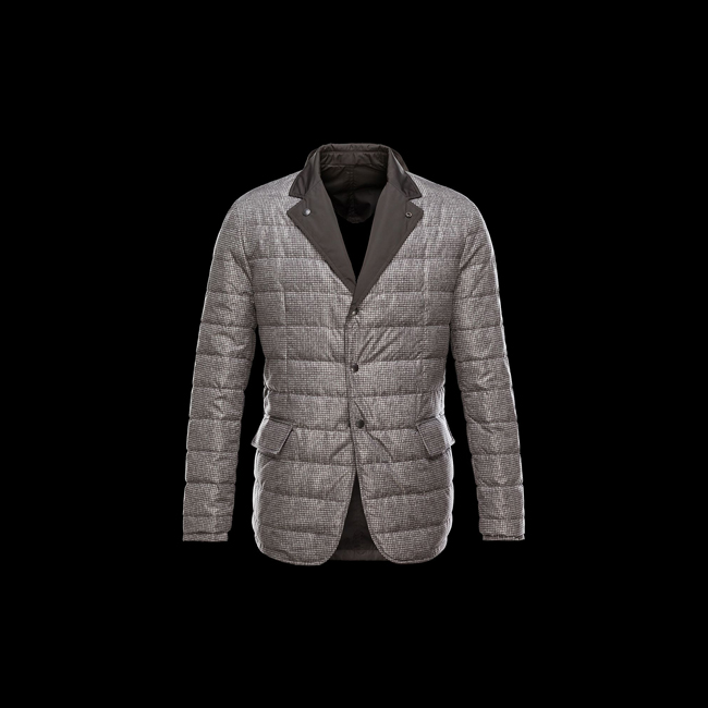 MONCLER MEN MABLY DARK BROWN