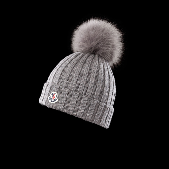 MONCLER WOMEN Hat GREY
