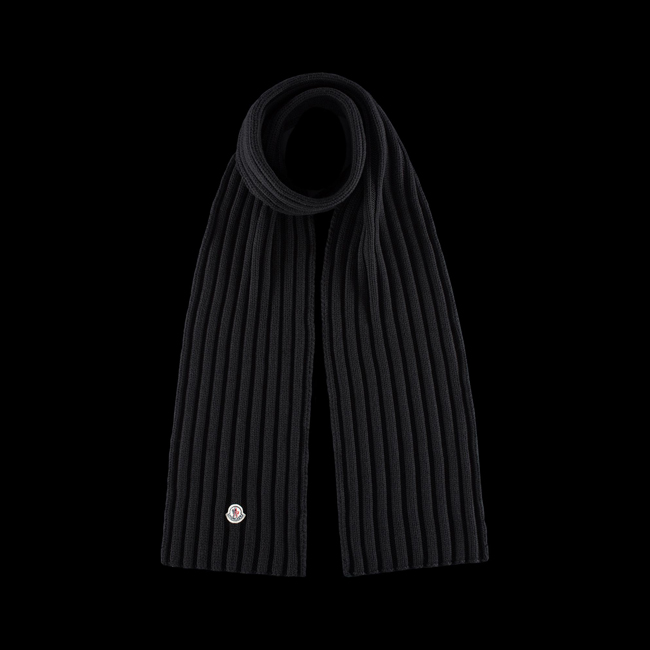 MONCLER WOMEN Scarf BLACK