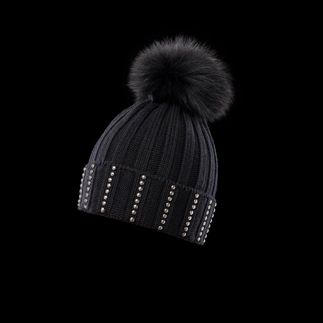 MONCLER WOMEN Hat BLACK