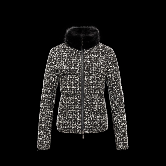 MONCLER WOMEN CORBEILLE BLACK