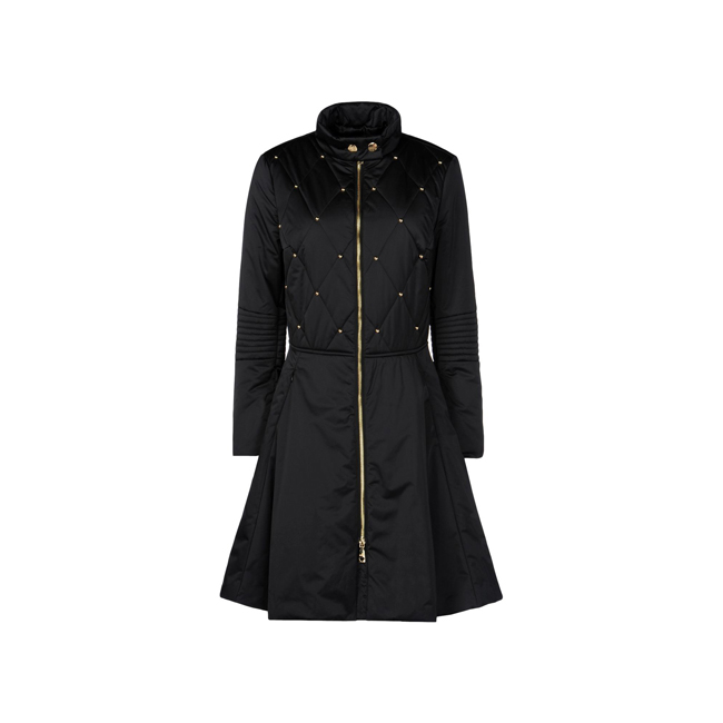 Love Moschino Coat BLACK