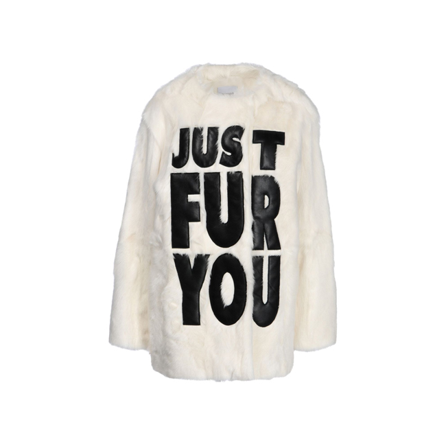 Moschino Cheap and Chic Fur IVORY