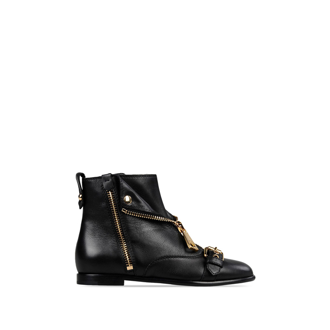 Moschino Ankle boots BLACK