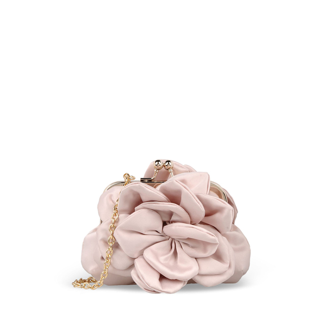 Love Moschino Small fabric bag BEIGE
