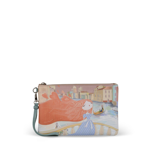 Love Moschino Clutches PASTEL PINK