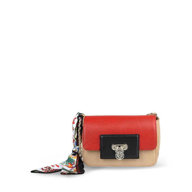 Love Moschino Small fabric bag RED
