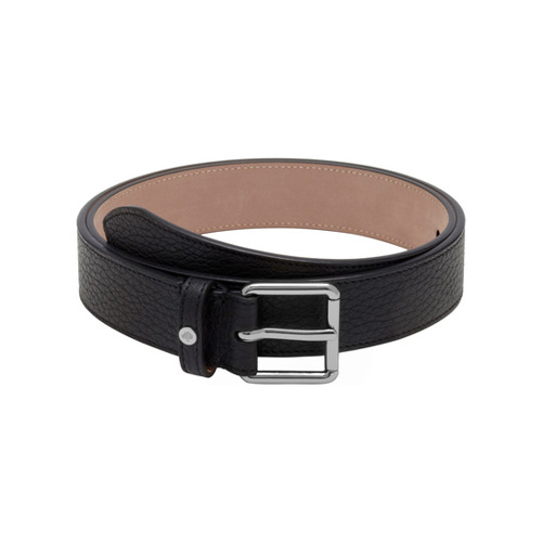 Mulberry Slim Belt Black Soft Grain With Nickel
