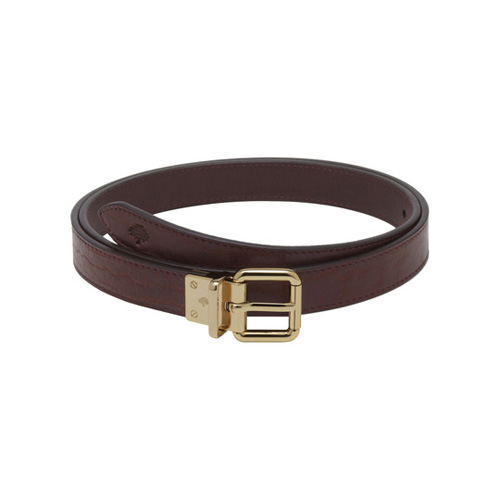 Mulberry Reversible Belt Oxblood Shrunken & Classic Calf