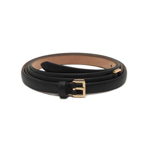 Mulberry Double Wrap Belt Black Silky Classic Calf