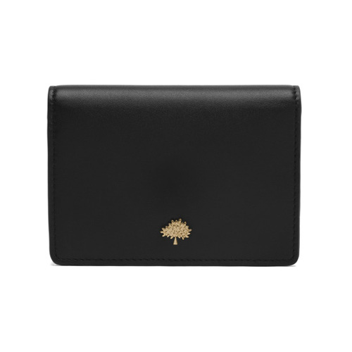 Mulberry Tree Slim Purse Black Lamb Nappa