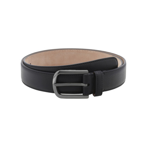 Mulberry Arched Buckle Belt Black Micrograin Calf
