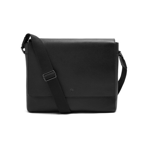 Mulberry Maxwell Messenger Black Small Classic Grain