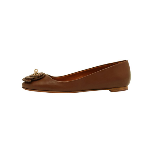 Mulberry Blenheim Ballerina Oak Calf & Saddle Leather