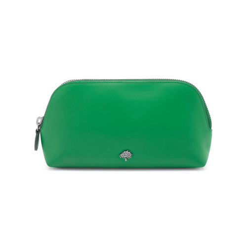 Mulberry Make Up Case Jungle Green Calf Nappa
