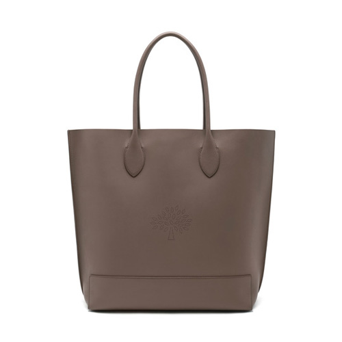 Mulberry Blossom Tote Taupe Calf Nappa