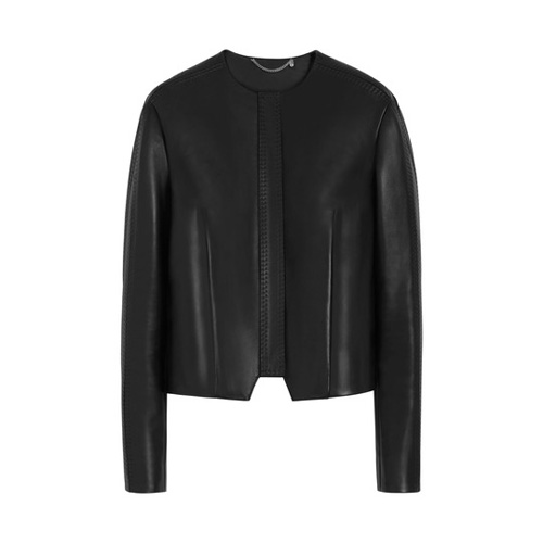 Mulberry Maggie Bomber Black Bonded Nappa