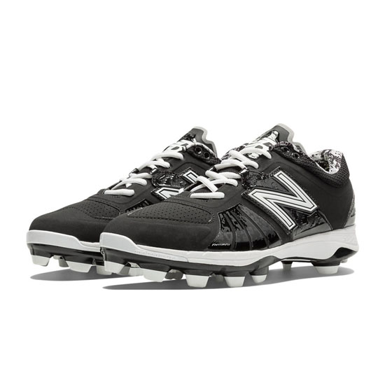 MEN'S New Balance Low-Cut 2000v2 TPU Molded Cleat Black
