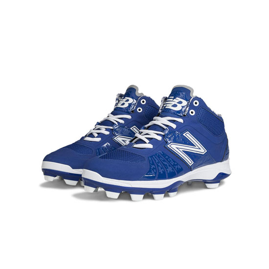 MEN'S New Balance Mid-Cut 2000v2 TPU Molded Cleat Blue